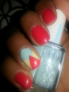 E-nuf is e-nuf apple mint candy and butter. By essie.