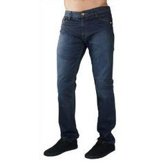 """F.U.S.A.I. Jeans Wax Coated 30"""" Inseam Distressed Denim Mens Slim Straight Pants (Apparel)"""