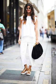 Street Chic: Amazing street style at Paris couture on Valentina