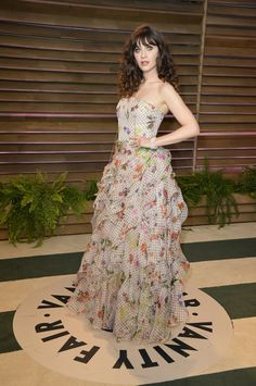 Oscar Parties Best Dressed: Zooey Deschanel