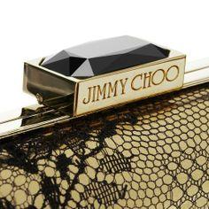 The Jimmy Choo CLOUD clutch clasp