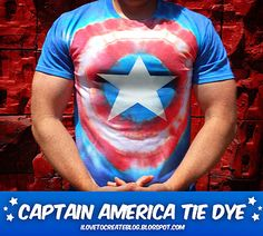 captain-america-tie-dye-shirt by ilovetocreate