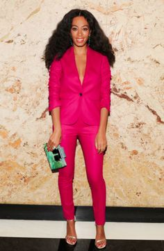 Solange at the Gucci Beauty launch