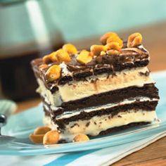 Hot Fudge Ice Cream Bar by allrecipes.com #Ice_Cream_Bar #Hot_Fudge #allrecipes