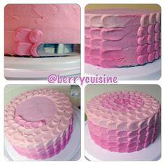 How to make ombré cake