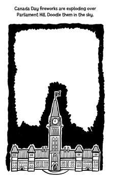 Canada Doodles - Kids Printables