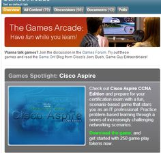 Cisco Network's game arcade helps kids learn to code through games - has certification games for review!