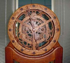 Build Your Own Wooden Grandfather Clock!