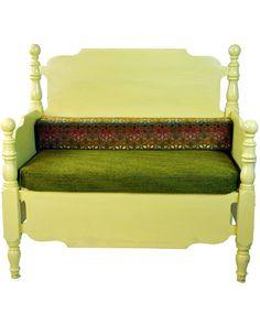 RePurpose 'Betty Lou' RePurposed Bed Bench