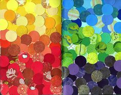 circles--twist on the color wheel
