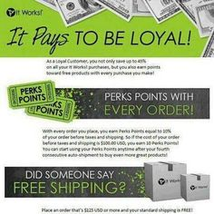 No start up fee.  Never have I seen a company take care of their customers like It Works Global does!