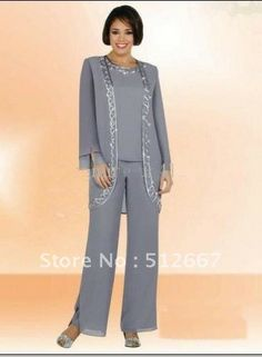 Custom made 2013 New Arrival Elegant Chiffon Mothers of Bride & Guests Pant Suit on AliExpress.com. $159.50