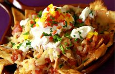 Three reasons to love chilaquiles for breakfast: salsa-soaked #tortillas, gooey #cheese, and warm #chili sauce. Salivating yet?   Chef Gustavo has a recipe that will get your family up and out of bed. Click to get our #recipe