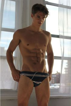 Jimmy Mulvihill Shirtless by Michael Del Buono #underwear #Hunk #shirtless #Model #sixpackabs #abs #muscle