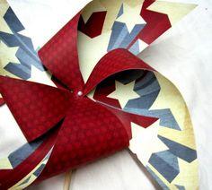 independence day pinwheels