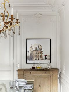 Dreamy Parisian apartment #Interior #design