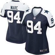 Nike Women's Dallas Cowboys DeMarcus Ware Game Throwback Jersey