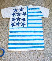 DIY 4th of July shirt!
