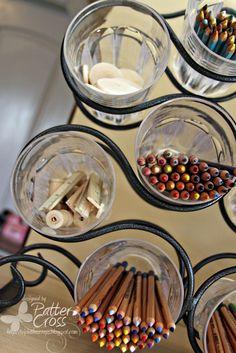 Wine Rack Storage - Scrapbook.com