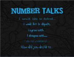 Preparing for Number Talks
