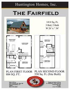 The Fairfield. famili, floor plan, hous plan, hous idea, someday hous, custom modular, den, design idea, house plans
