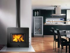 This is the most beautiful wood fireplace that heats up like a beast! 4000 sf htg cap! Now available thru us.