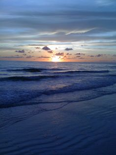 Sunset off Longboat Key