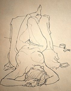 life drawing, art work, wall art, framed art, on the wall, line drawing,  interior design,  nude. Great drawing project!.