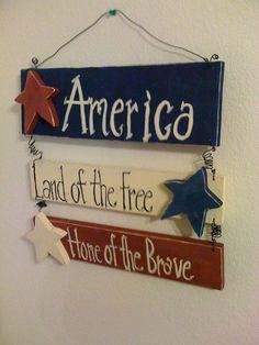 Americana Wall Decor
