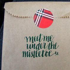 Kraft Merchandise Bag