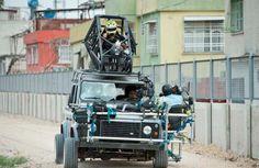 Skyfall car camera rig... Hold on