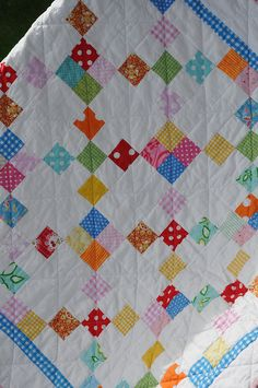 Baby Quilt by Pleasant Home, via Flickr
