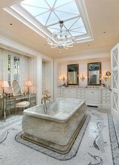 My luxury home...Lavish bath - Neo-Classic home