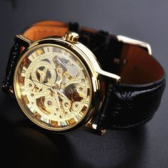 Gold Watch for Men (WAT0083-GOLD) ($29.99) - Svpply