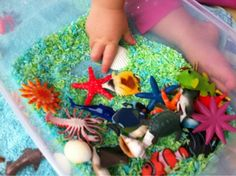 Under The Sea - Rice Play from Just for Daisy