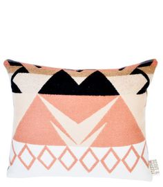 Heritage Wool Pillow in Rose