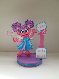 Abby Cadabby Custom Birthday Party by DivineDecorations on Etsy