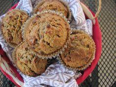 PaleOMG – Paleo Recipes – Morning Glory Muffins (nut free option)