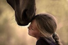 just a girl and her horse