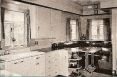 Kitchen with Vitrolite