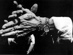 the hands of gypsy flamenco legend, camaron...