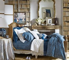 New from the Ralph Lauren Lifestyle Collections: the La Plage collected captures the tranquil elegance of the seaside with artful mix of chic and rustic elements and endless nautical shades of blue and white