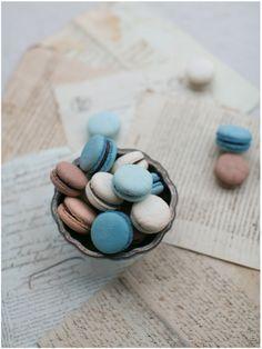http://capturcall.fr/ #blues #grey #food #macaron #yummy #capturcall