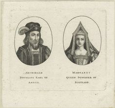 Archibald Douglas, 6th Earl of Angus and Margaret Tudor, Queen Dowager of Scotland