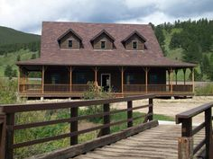 Custom Ranch Cabin by TUFF SHED Storage Buildings & Garages, via Flickr