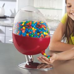 motion activated candy dispenser I'd get so FAT! Lol