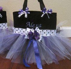 Flower girl gift bag. Perfect for my Niya.
