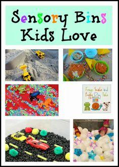 Sensory Bins Kids Love and kids co-op by FSPDT