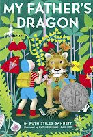 We have been reading My Father's Dragon and today we finished the final book, The Dragons of Blueland. These short chapter books are such a fun read aloud and lend themselves very easily to making mental images.
