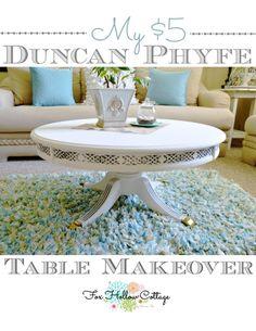 Diy A Duncan Phyfe Magnolia Makeover